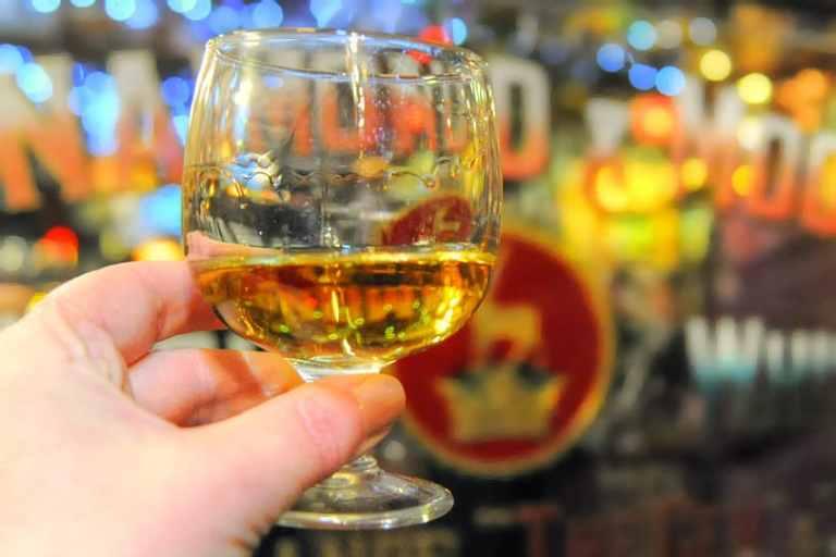 Bushmills Whiskey in the Duke of York, Belfast