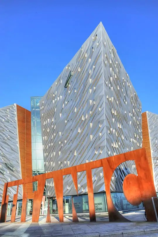 The Titanic Belfast, on of my top things to do in Belfast