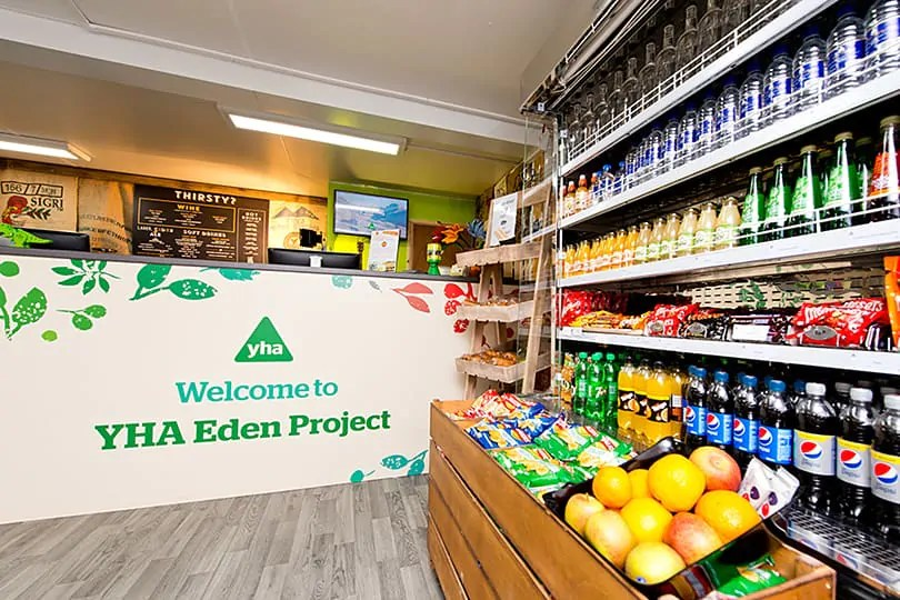 Review YHA Eden Project