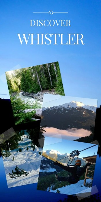 Discover Canada's wild side at Whistler