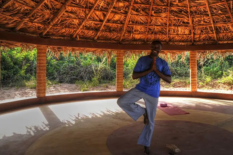 Sandele Eco Retreat yoga circle