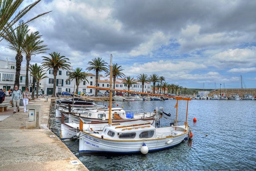 Fornells harbour, Menorca