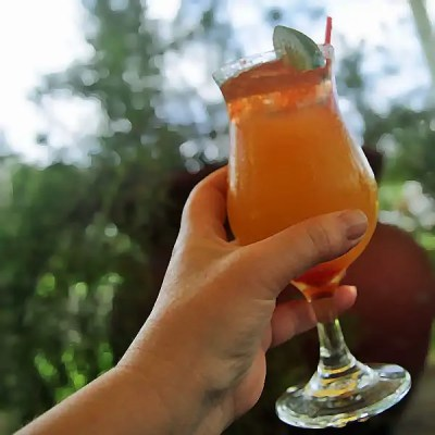 The perfect Caribbean rum punch