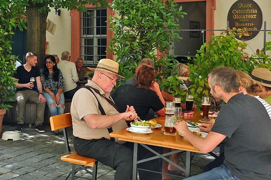 Schlenkerla Tavern, Bamberg, home to the original smoked beer