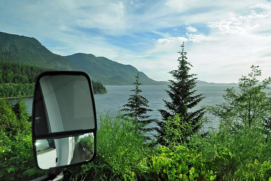 The drive through Vancouver Island's interior