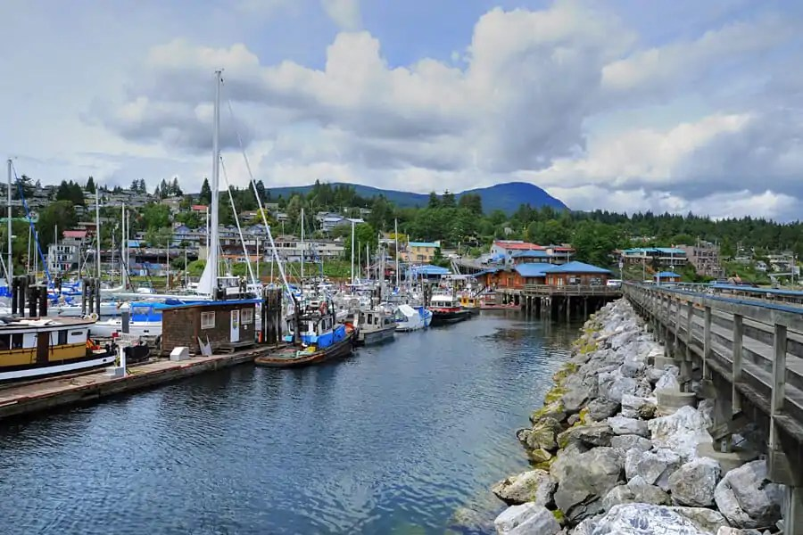 Gibsons Landing, Gibsons, British Columbia, Canada