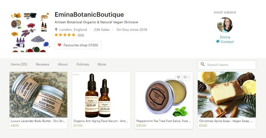 Organic, natural and vegan skincare range