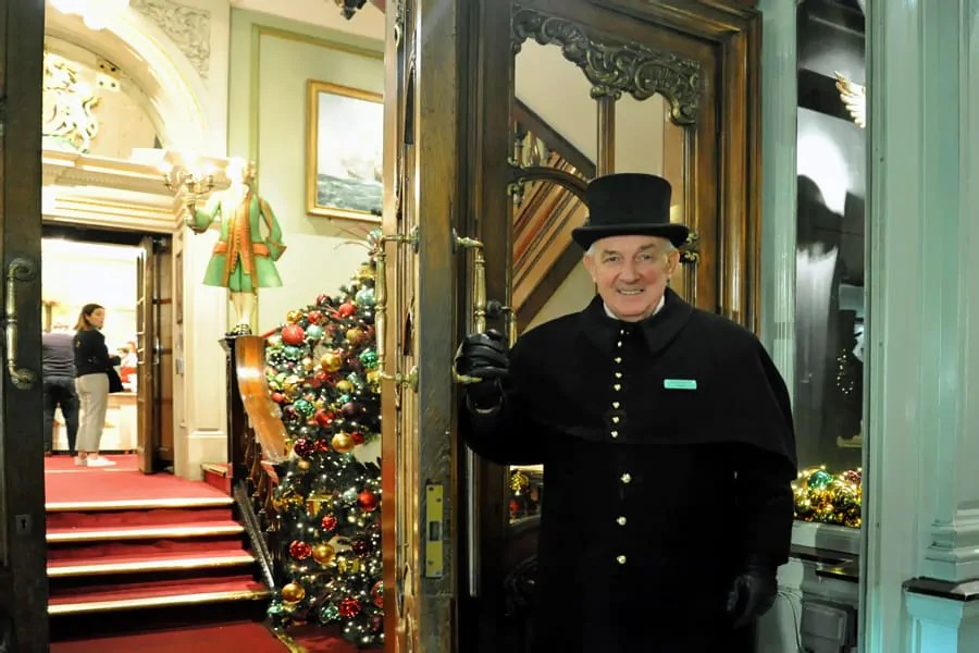 Welcome to Fortnum and Mason at Christmas