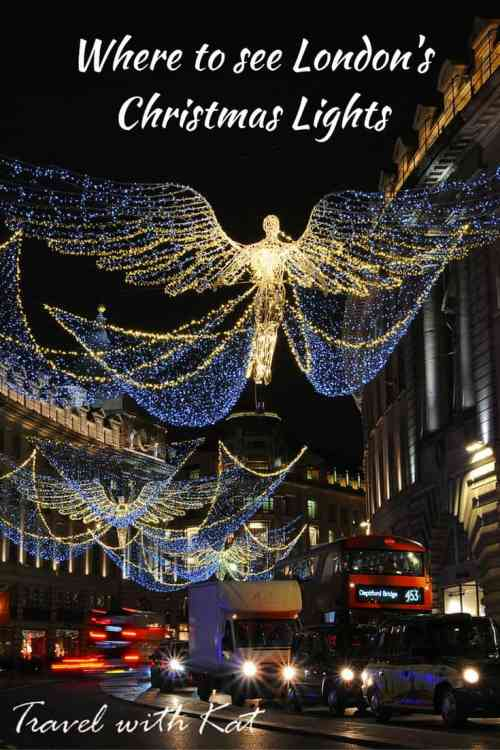Where to see London's iconic Christmas Lights