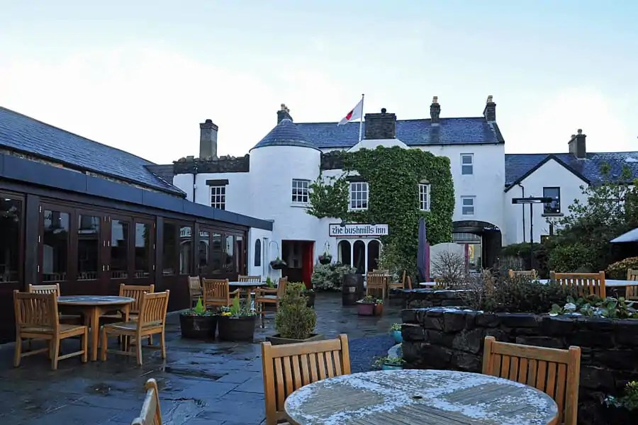 Bushmills Inn in Antrim on the Causeway Coast