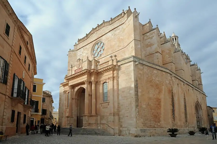 Cituadella Cathedral, Menorca, Spain - one of my top 10 things to do in Menorca
