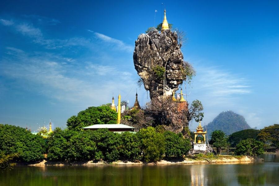 Kyauk Ka Lat Pagoda, one of my Top 10 Places to Visit in Burma (Myanmar)
