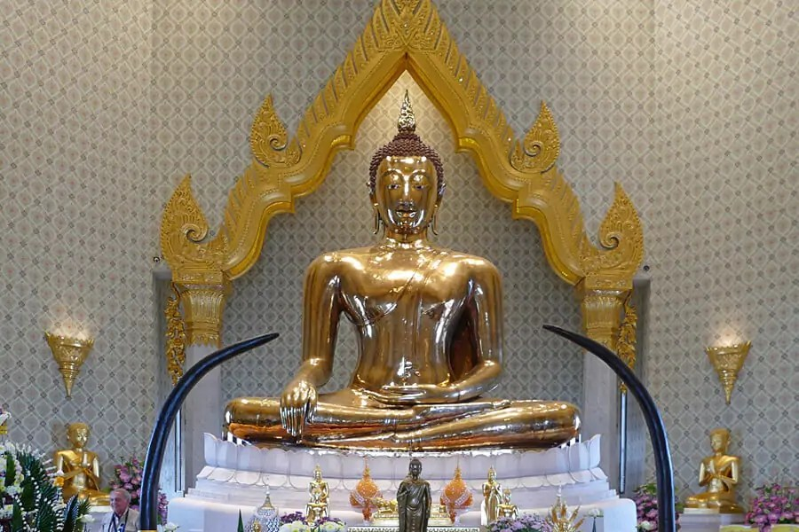 The Golden Buddha, Bangkok, Thailand