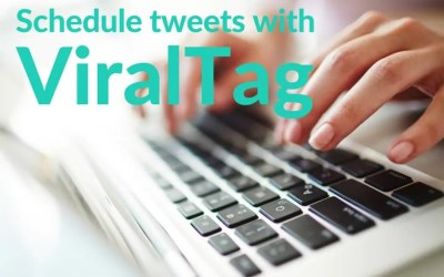 How to schedule tweets with ViralTag