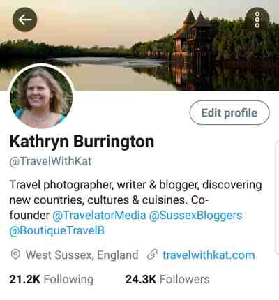 Optimising your profile on Twitter