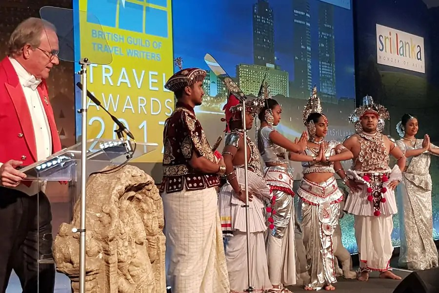 Sri Lankan Tourism Promotion Bureau host the British Guild of Travel Writers Annual Awards and Gala Dinner 2017 at The Savoy, London