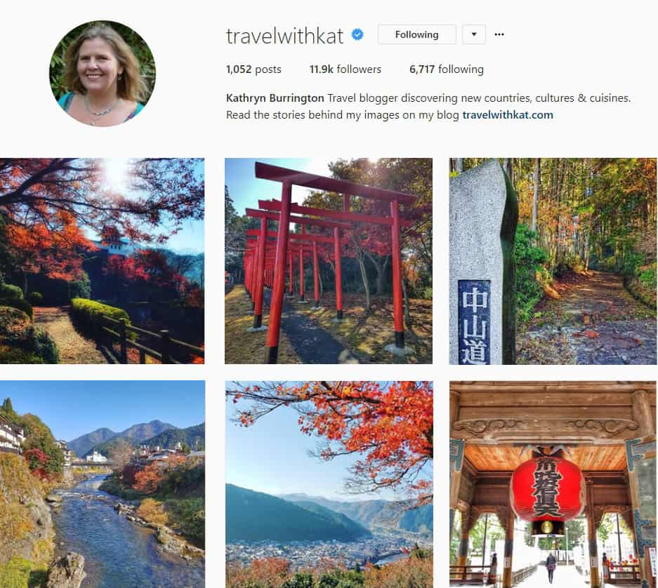 Follow Travel With Kat on Instagram