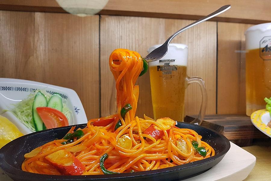 Sample Kobo - a replica plate of spaghetti