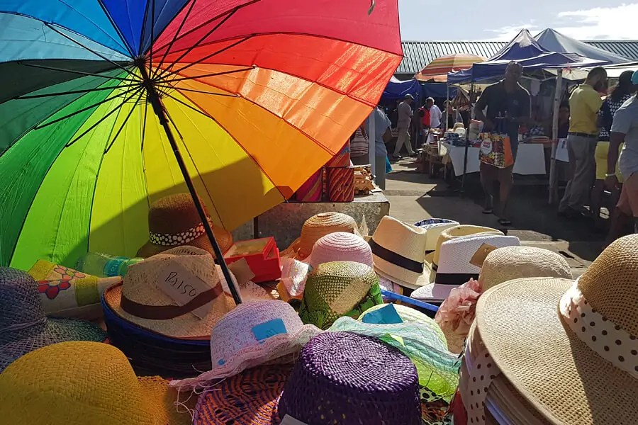 Top 10 things to do in Rodrigues Island - Saturday market on Rodrigues Island in the Indian Ocean