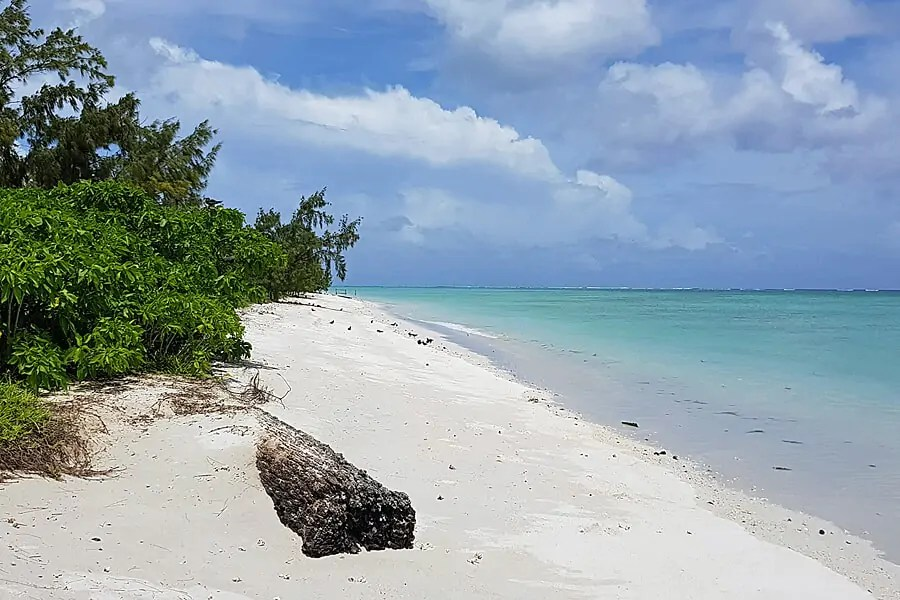 Coco Island in Rodrigues in the Indian Ocean
