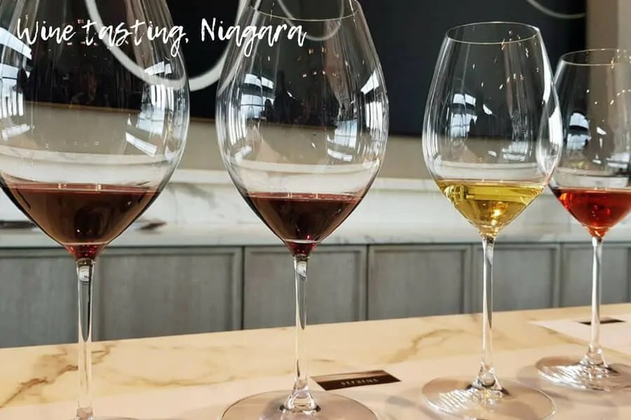Wine tasting in Niagara, Ontario