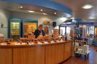 Cheddar Gorge Cheese Company, Cheddar Gorge, Somerset, England