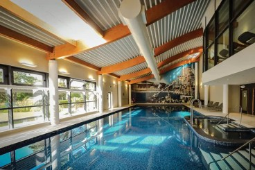 The spa swimming pool at Foxhills Country Club