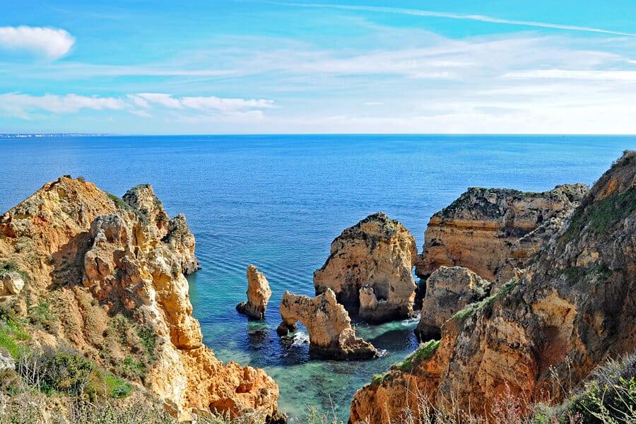 Things to do in the Algarve, visit the Ponta da Piedade