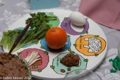 Seder plate #2