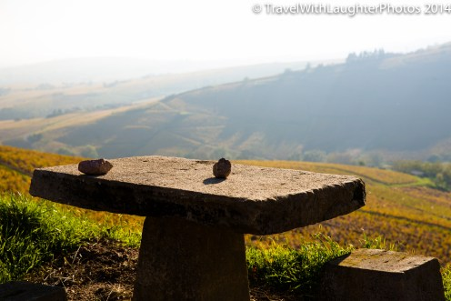 We could have sat at this table for hours with the amazing wine!