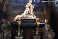 Jean-Baptiste Colbert is buried at the church