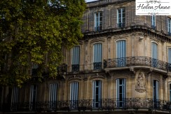Classical French architecture.