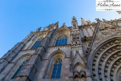 The details of Barcelona Cathedral are amazing.
