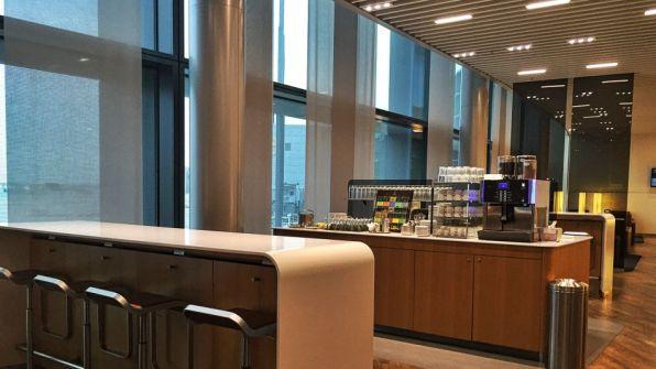 Lufthansa Senator Lounge Frankfurt A Plus Kaffeeinsel
