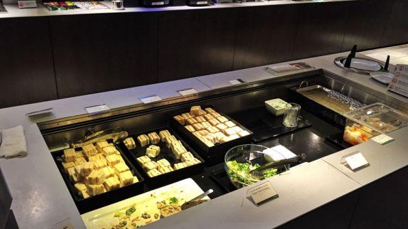 ANA Lounge Tokio Narita Buffet Sandwiches