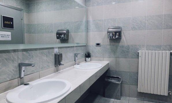 Marco Polo Club Lounge Venedig Waschräume