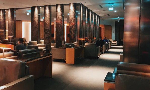 Air Canada Maple Leaf Lounge Frankfurt Sitzmöglichkeiten 2