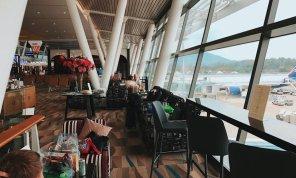 Thai Royal Orchid Lounge Phuket (Temporary) Wartebereich Fenster