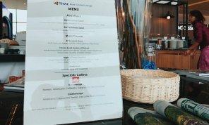 Thai Royal Orchid Lounge Phuket (Temporary) Thai Business Lounge Menue