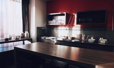 Lindner Hotel City Plaza Köln First Class Lounge tagsüber