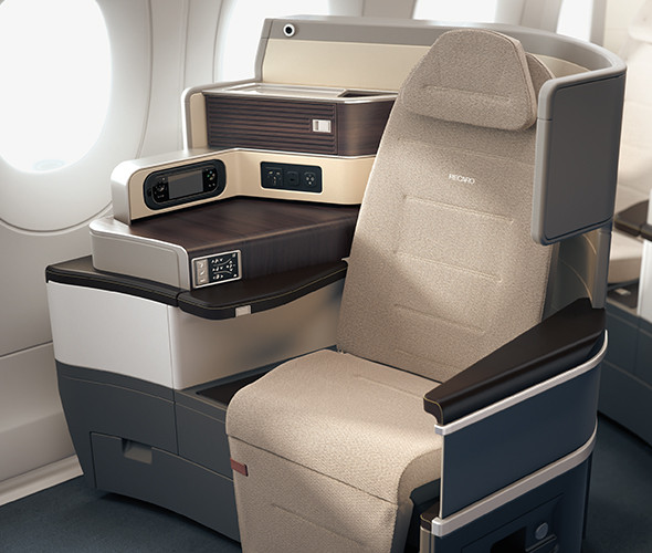 neue TAP Business Class Airbus A330-900neo Sitz Recaro