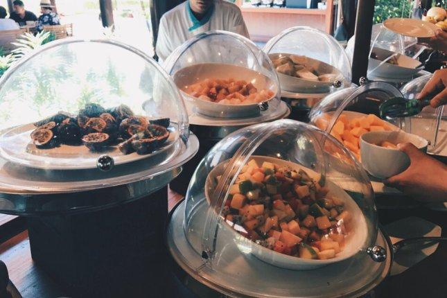 Review JA Manafaru Maldives Frühstücksbuffet