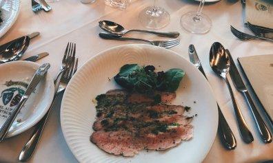Review - Romantik Hotel Wartburg - Dinner Restaurant Luther-Menue Vorspeise
