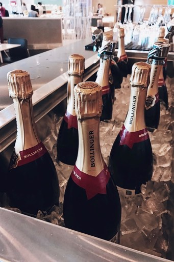 American Airlines Flagship Lounge Bollinger