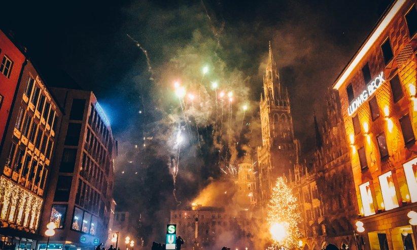 Silvester Marienplatz München Jahreswechsel Sunday Hangover #1 2018