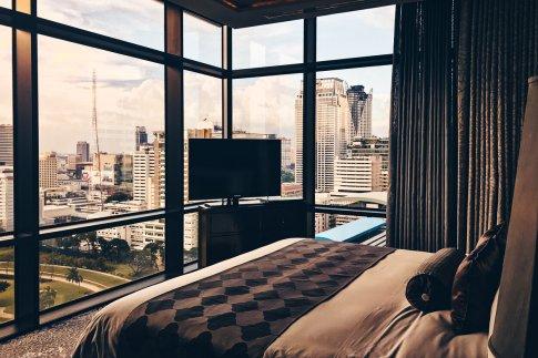 Hotel Review Bangkok Caroline Astor Suite