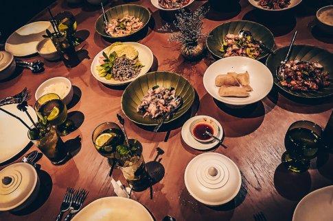 Review The Ritz-Carlton Koh Samui Thai Style Dinner