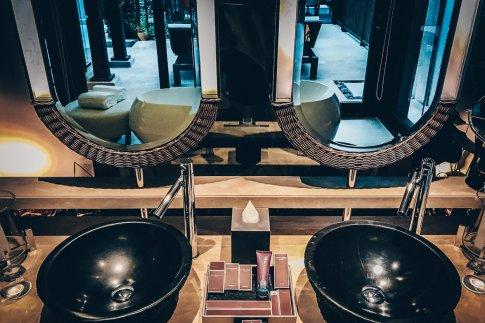 Review The Ritz-Carlton Koh Samui Badezimmer