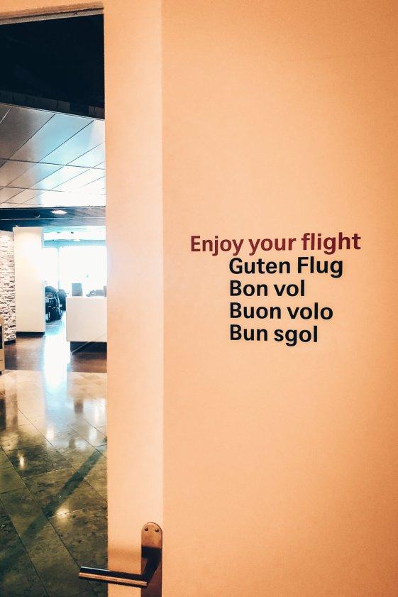 Neue Swiss First Class Lounge Zürich Terminal A - Limousinen Shuttel