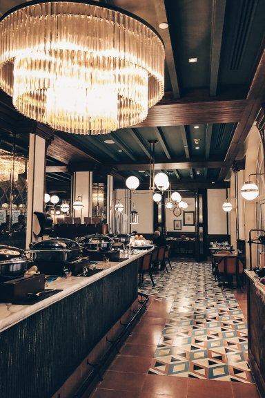 Review Four Seasons Mexico City Zanaya Restaurant Frühstücksbuffet